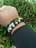 Winter White+Black Bracelets