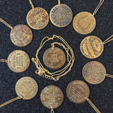 Naughty Token Necklaces