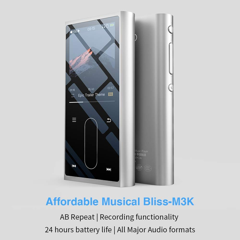 Fiio M3k Portable High Resolution Lossless Digital Music Player Dap Voice Record And Playback Circuit Schematic With Recorder 24 Hours Expandable Up To 512gb Ships Next