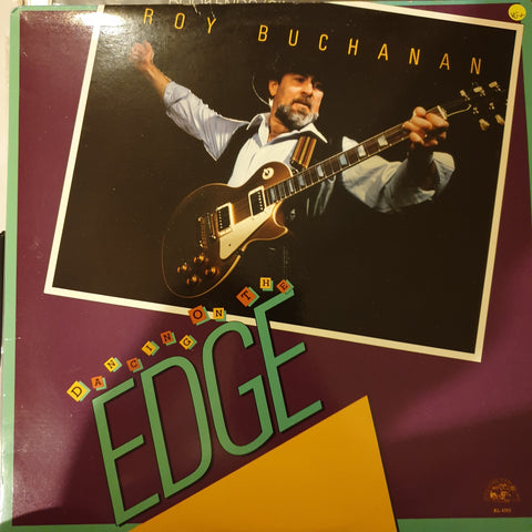 Roy Buchanan ‎– Dancing On The Edge ‎– Vinyl LP Record - Opened  - Very-Good+ Quality (VG+)