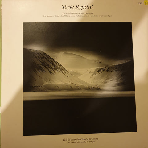 Terje Rypdal ‎– Undisonus For Violin And Orchestra / Ineo For Choir And Chamber Orchestra ‎– Various  ‎– Vinyl LP Record - Opened  - Very-Good+ Quality (VG+)