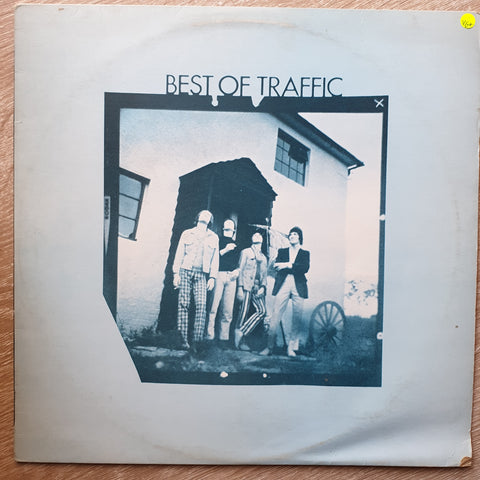 Traffic ‎– Best Of Traffic ‎– Vinyl LP Record - Opened  - Very-Good+ Quality (VG+)