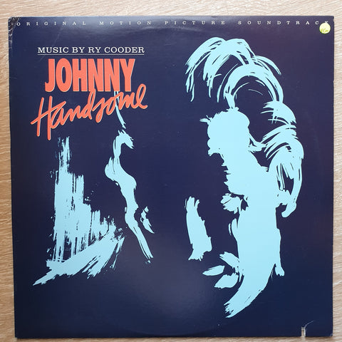 Ry Cooder ‎– Johnny Handsome Original Motion Picture Soundtrack ‎– Vinyl LP Record - Opened  - Very-Good+ Quality (VG+)