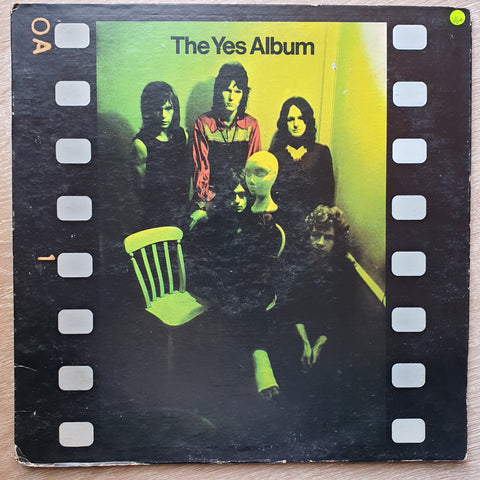 Yes ‎– The Yes Album ‎– Vinyl LP Record - Opened  - Very-Good+ Quality (VG+)
