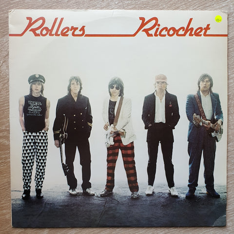 The Rollers ‎– Ricochet ‎– Vinyl LP Record - Opened  - Very-Good+ Quality (VG+)