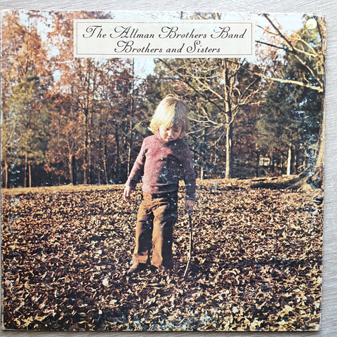 The Allman Brothers Band ‎– Brothers And Sisters  ‎– Vinyl LP Record - Opened  - Very-Good+ Quality (VG+)
