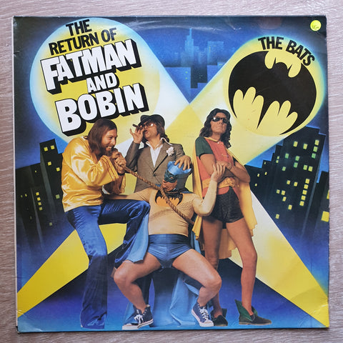 The Bats ‎– The Return Of Fatman And Bobin - Vinyl LP Record - Opened  - Very-Good+ Quality (VG+)