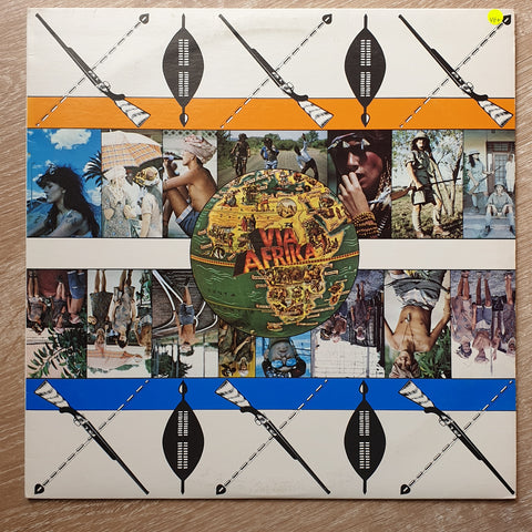 Via Afrika ‎– Via Afrika -  Vinyl LP Record - Very-Good+ Quality (VG+)