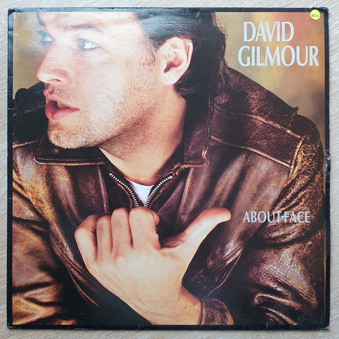 David Gilmour ‎– About Face -  Vinyl LP Record - Very-Good+ Quality (VG+)
