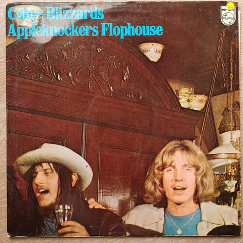 Cuby + Blizzards ‎– Appleknockers Flophouse -  Vinyl LP Record - Very-Good+ Quality (VG+)