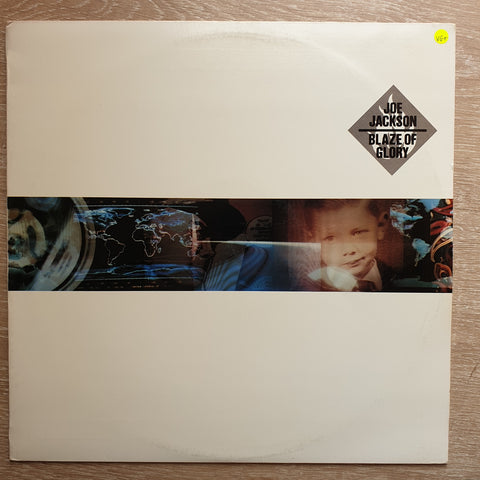 Joe Jackson ‎– Blaze Of Glory - Vinyl LP Record - Opened  - Very-Good+ Quality (VG+)