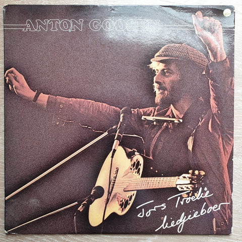 Anton Goosen ‎– Jors Troelie - Vinyl LP Record - Very-Good+ Quality (VG+)