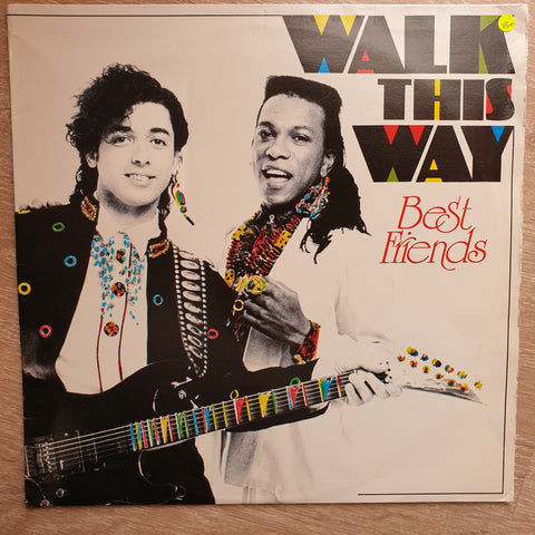 Walk This Way ‎– Best Friends - Vinyl LP Record - Very-Good+ Quality (VG+)