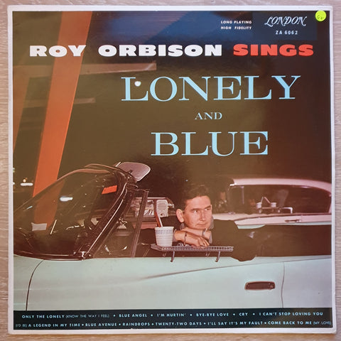 Roy Orbison - Lonely And Blue ‎– Vinyl LP Record - Opened  - Good+ Quality (G+)