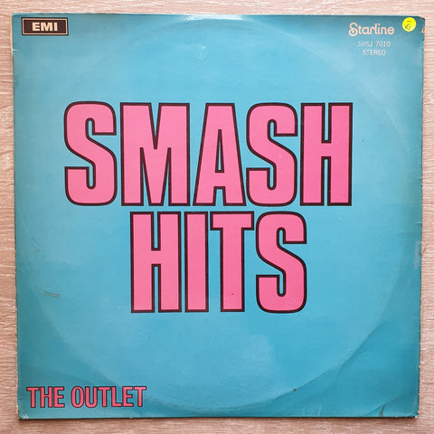 The Outlet ‎– Smash Hits - Vinyl LP Record - Opened  - Very-Good- Quality (VG-)
