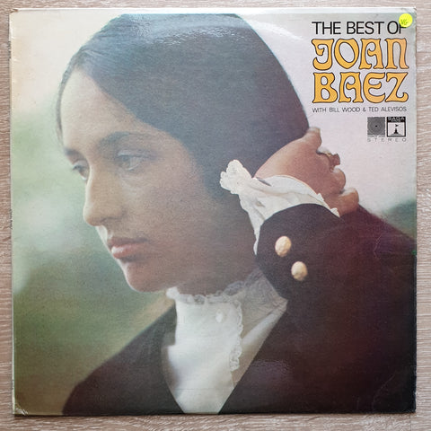 Joan Baez, Bill Wood, Ted Alevizos ‎– The Best Of Joan Baez - Vinyl LP Record - Opened  - Very-Good Quality (VG)