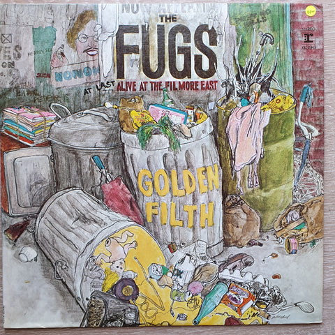 The Fugs - Golden Filth -  Vinyl LP Record - Very-Good+ Quality (VG+)