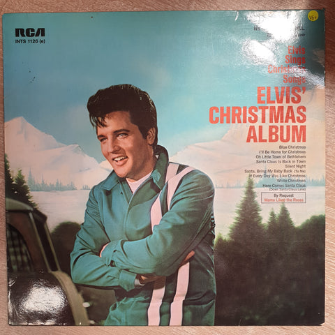 Elvis Presley ‎– Elvis' Christmas Album - Elvis Sings Christmas Songs - Vinyl LP Record - Opened  - Very-Good+ Quality (VG+)