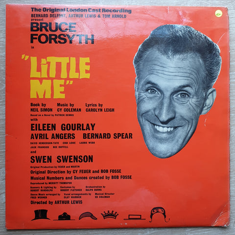 """Little Me""  - Bruce Forsyth & Original London Musical Cast -  Vinyl LP Record - Very-Good+ Quality (VG+)"
