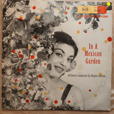 Chucho Zarzosa ‎– In A Mexican Garden - Vinyl LP Record - Opened  - Very-Good- Quality (VG-)
