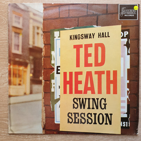Ted Heath ‎– Ted Heath Swing Session -  Vinyl LP Record - Very-Good+ Quality (VG+)