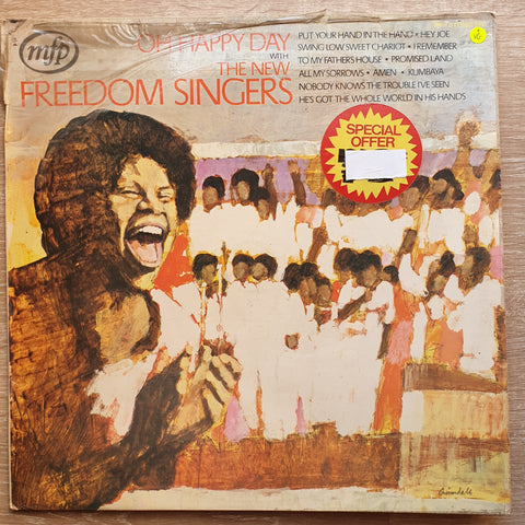 The New Freedom Singers ‎– Oh Happy Day - Vinyl LP Record - Opened  - Very-Good Quality (VG)