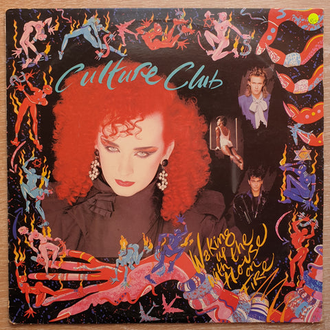 Culture Club ‎– Waking Up With The House On Fire ‎– Vinyl LP - Opened  - Very-Good+ Quality (VG+)