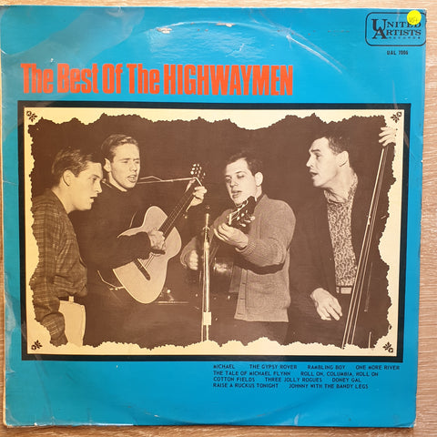 Best Of The Highwaymen - Vinyl LP - Opened  - Very-Good+ Quality (VG+)