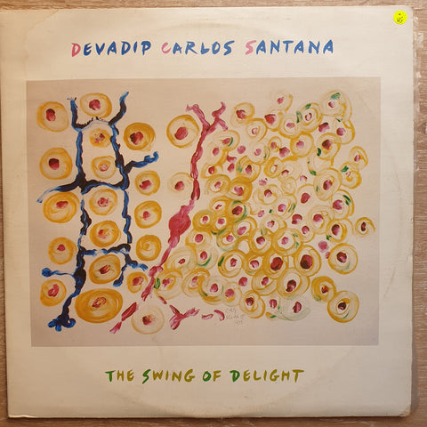 Devadip Carlos Santana ‎– The Swing Of Delight - Double Vinyl LP Record - Opened  - Very-Good Quality (VG)