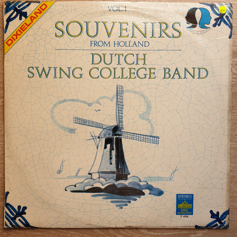 Dutch Swing College Band ‎– Souvenirs From Holland, Vol. 1 -  Vinyl LP Record - Very-Good+ Quality (VG+)