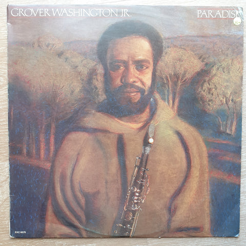 Grover Washington, Jr. ‎– Paradise -  Vinyl LP Record - Very-Good+ Quality (VG+)