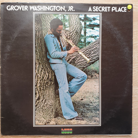 Grover Washington, Jr. ‎– A Secret Place - Vinyl LP Record - Very-Good+ Quality (VG+)