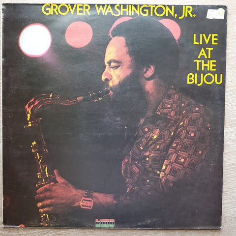 Grover Washington, Jr. ‎– Live At The Bijou - Vinyl LP Record - Very-Good+ Quality (VG+)