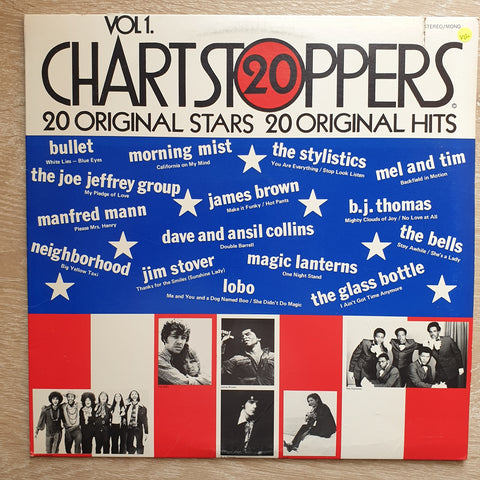 20 Chartstoppers Vol 1 (Original Artists) -  Vinyl LP Record - Very-Good+ Quality (VG+)