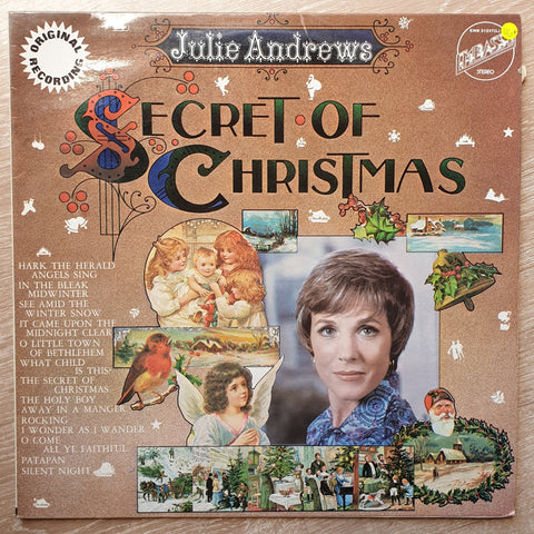 Julie Andrews - The Secret Of Christmas ‎– Vinyl LP Record - Opened  - Very-Good+ Quality (VG+) - C-Plan Audio
