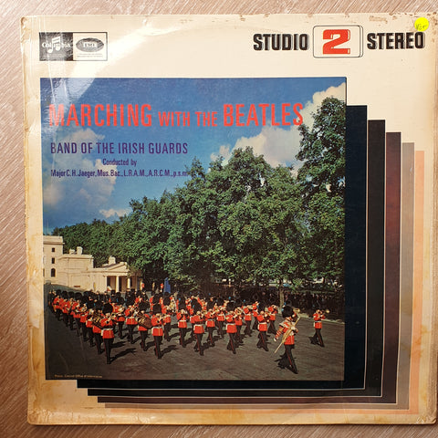 Band Of The Irish Guards - Marching With The Beatles - Album Vinyl LP Record - Very-Good+ Quality (VG+)