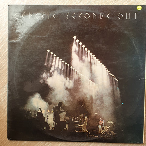 Genesis ‎– Seconds Out - Double Vinyl LP Record - Very-Good+ Quality (VG+)