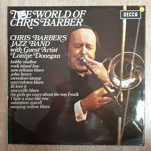 Chris Barber's Jazz Band with Lonnie Donegan & Ottilie Patterson ‎– The World Of Chris Barber- Vinyl Record - Very-Good+ Quality (VG+)
