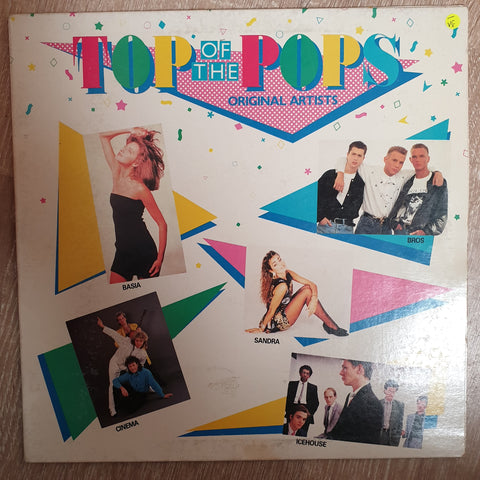 Top Of The Pops - Original Artists - Vinyl LP Record - Opened  - Very-Good- Quality (VG-)