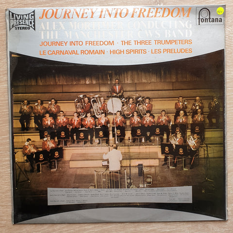 The Manchester CWS Band ‎– Journey Into Freedom ‎– Symphony No. 5 / Five Rückert Songs - Vinyl Record - Very-Good+ Quality (VG+)