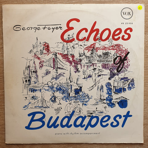 George Feyer ‎– Echoes Of Budapest - Vinyl Record - Very-Good+ Quality (VG+)
