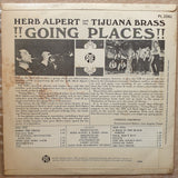 Herb Alpert & Tijuana Brass - Going Places  - Vinyl LP - Opened  - Very-Good+ Quality (VG+) - C-Plan Audio