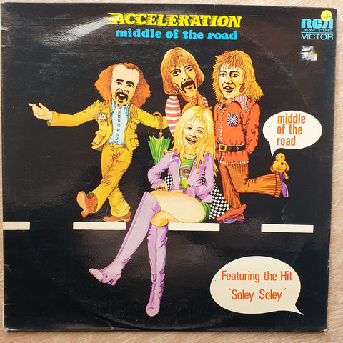 Middle Of The Road ‎– Acceleration - Vinyl Record - Very-Good+ Quality (VG+)