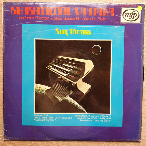 Rory Thomas ‎– Sensational Yamaha Performs Popcorn & Other Smash Hits Yamaha Style - Vinyl LP Record - Opened  - Very-Good- Quality (VG-)