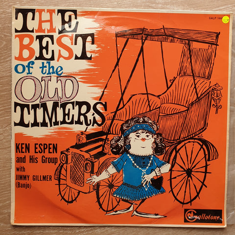 Ken Espen - The Best Of The Old Timers -  Vinyl LP Record - Very-Good+ Quality (VG+)