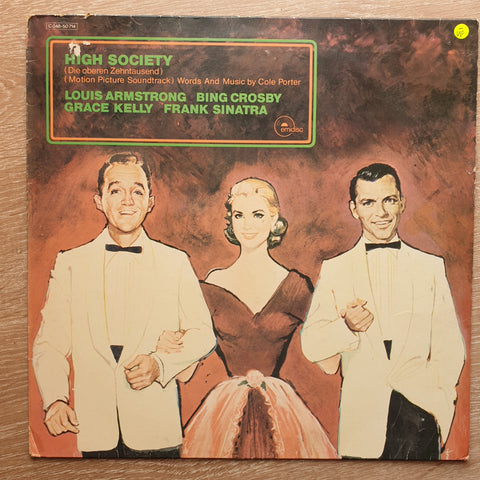 High Society (Original Motion Picture Soundtrack) - Vinyl LP Record - Opened  - Very-Good- Quality (VG-)