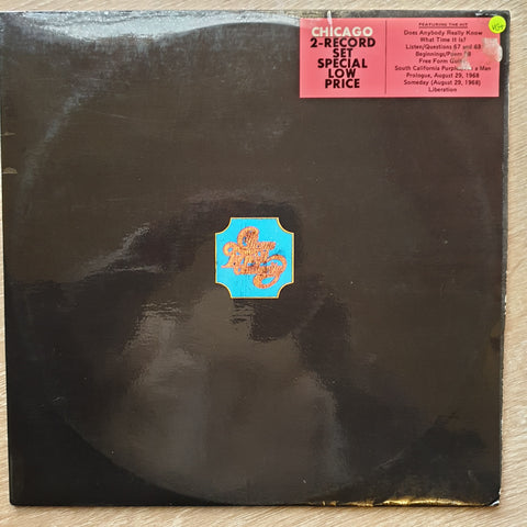 Chicago Transit Authority - Double Vinyl LP Record - Opened  - Very-Good+ Quality (VG+)
