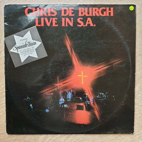 Chris de Burgh ‎– Live In South Africa - Vinyl LP - Opened  - Very-Good+ Quality (VG+)