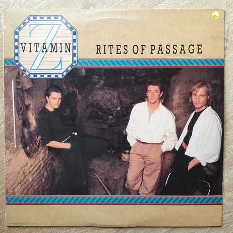 Vitamin Z ‎– Rites Of Passage - Vinyl  Record - Opened  - Very-Good+ Quality (VG+)