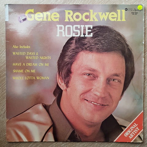 Gene Rockwell ‎– Rosie - Vinyl LP - Opened  - Very-Good+ Quality (VG+)
